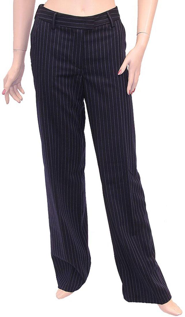 Armani Jeans Womens Pants Trousers Navy Wool
