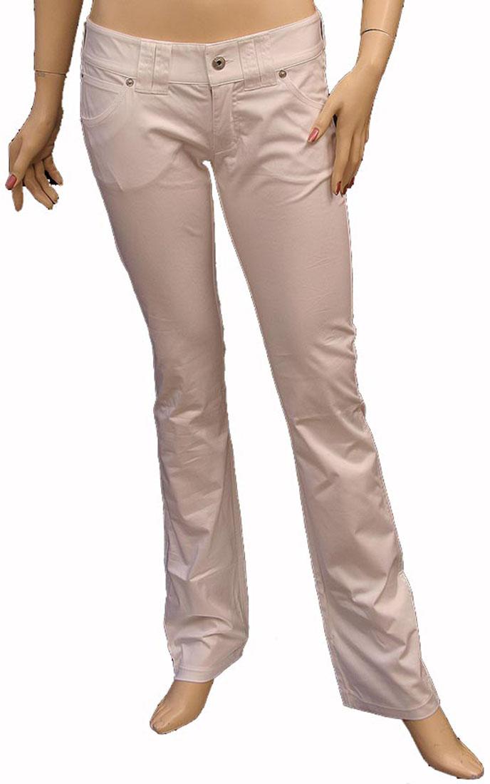 Armani Jeans Womens Pants Trousers White Cotton