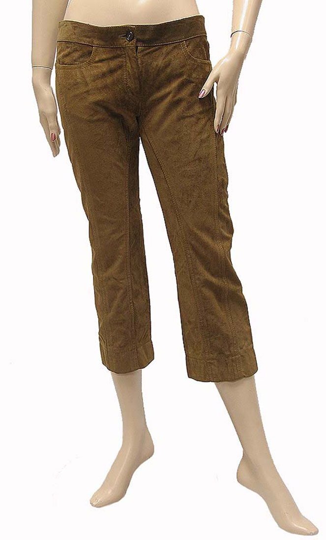 Model Blue Label Leather Pants  Bordeaux Brown And Other Women39s Clothing