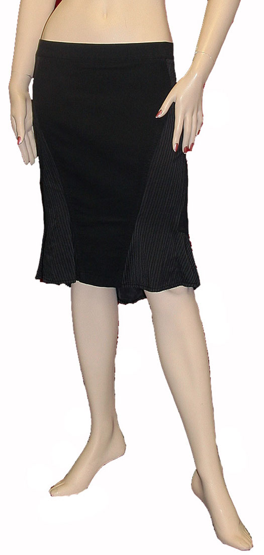 Roberto Cavalli Womens Skirt Black Cotton