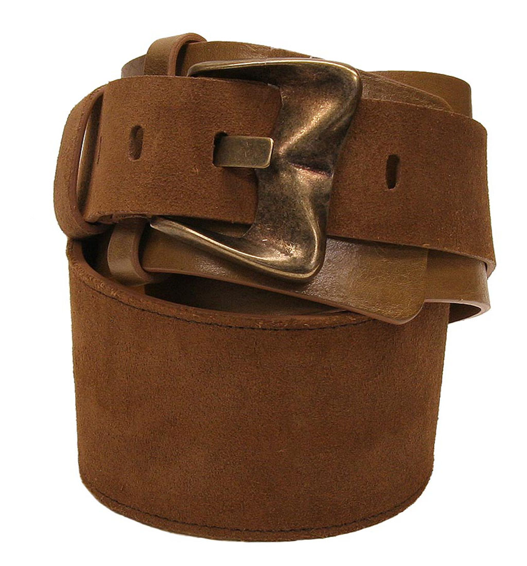 DG Womens Belt Brown Leather