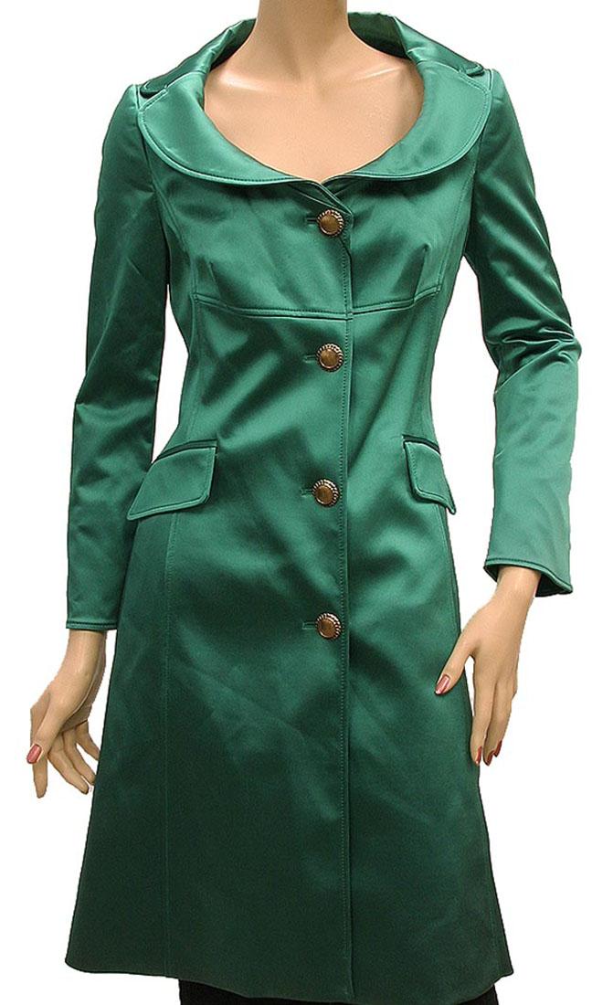 DG Womens Jacket Coat Green