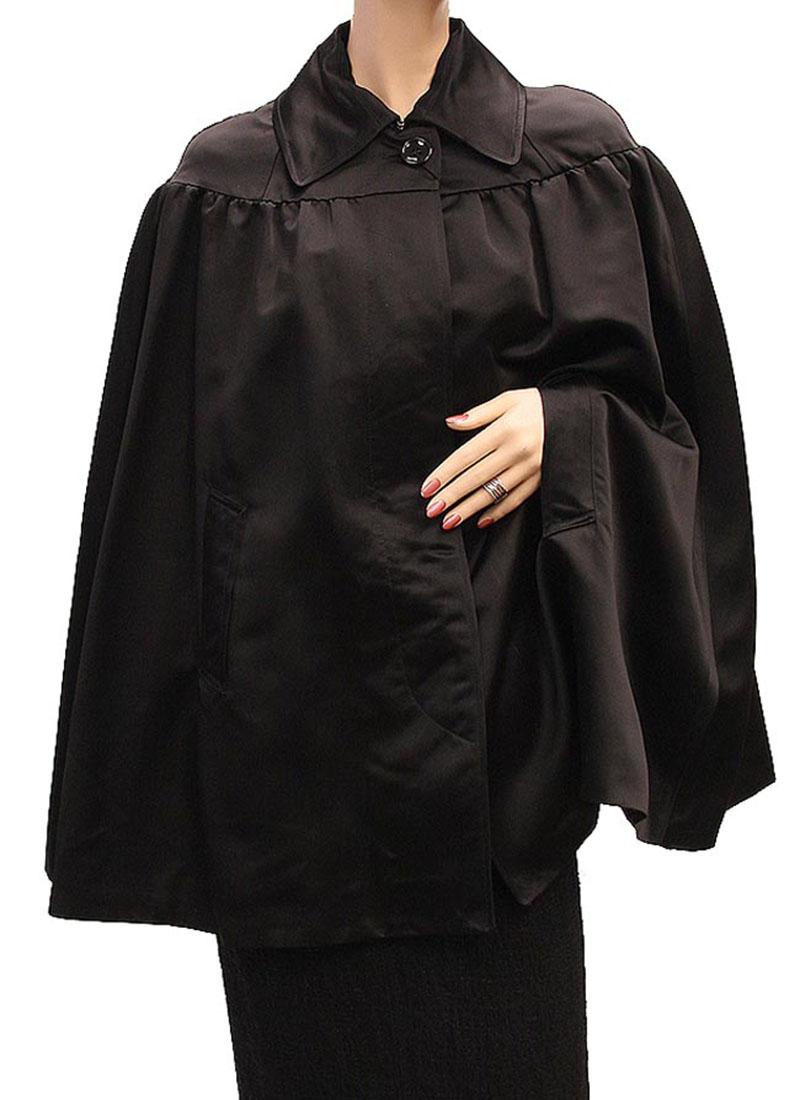 DG Womens Jacket Coat Black Lamb