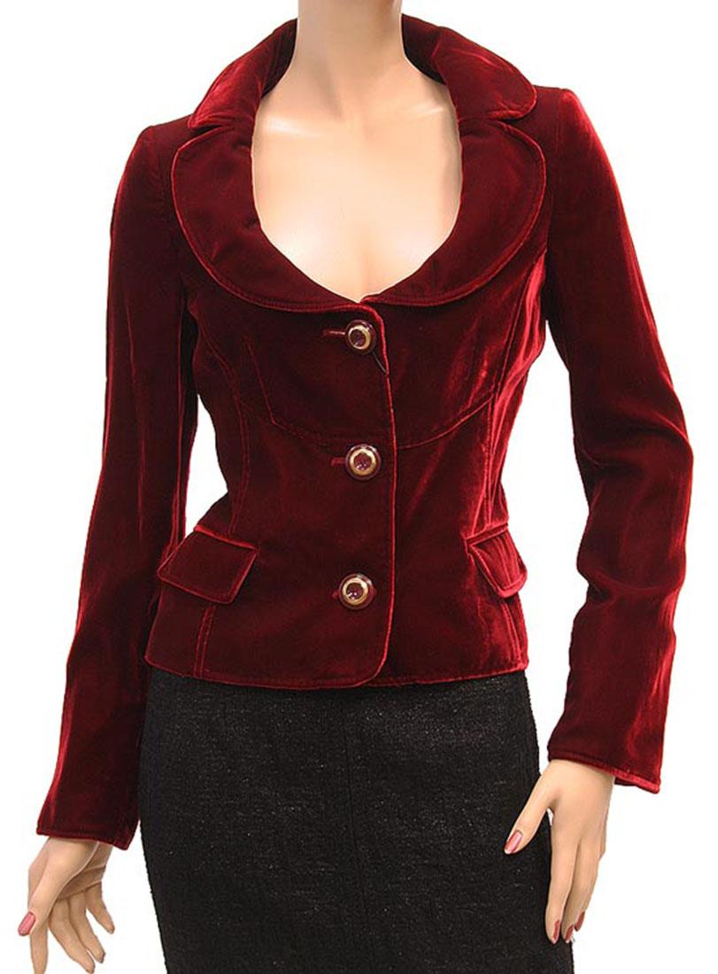 DG Womens Jacket Coat Red