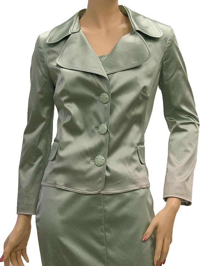 DG Womens Jacket Coat Moss Green