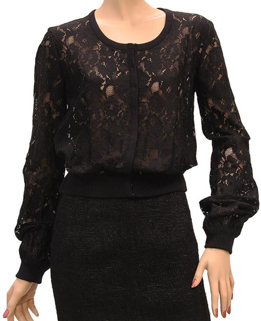 DG Womens Top Blouse Shirt Black