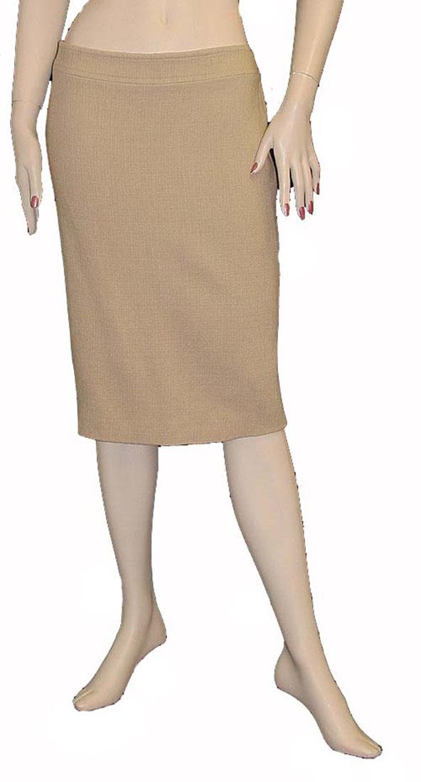 Roberto Cavalli Womens Skirt Beige Wool