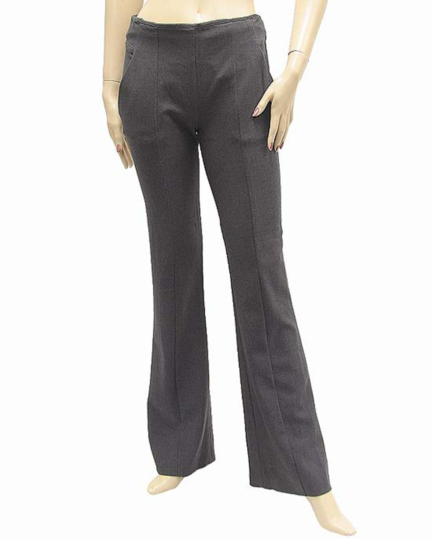 Ferre Womens Pants Trousers Gray Cotton