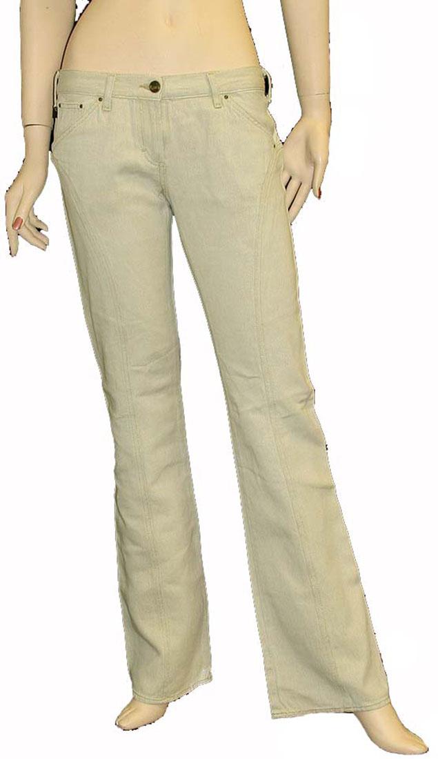 Just Cavalli Beige Linen Jean