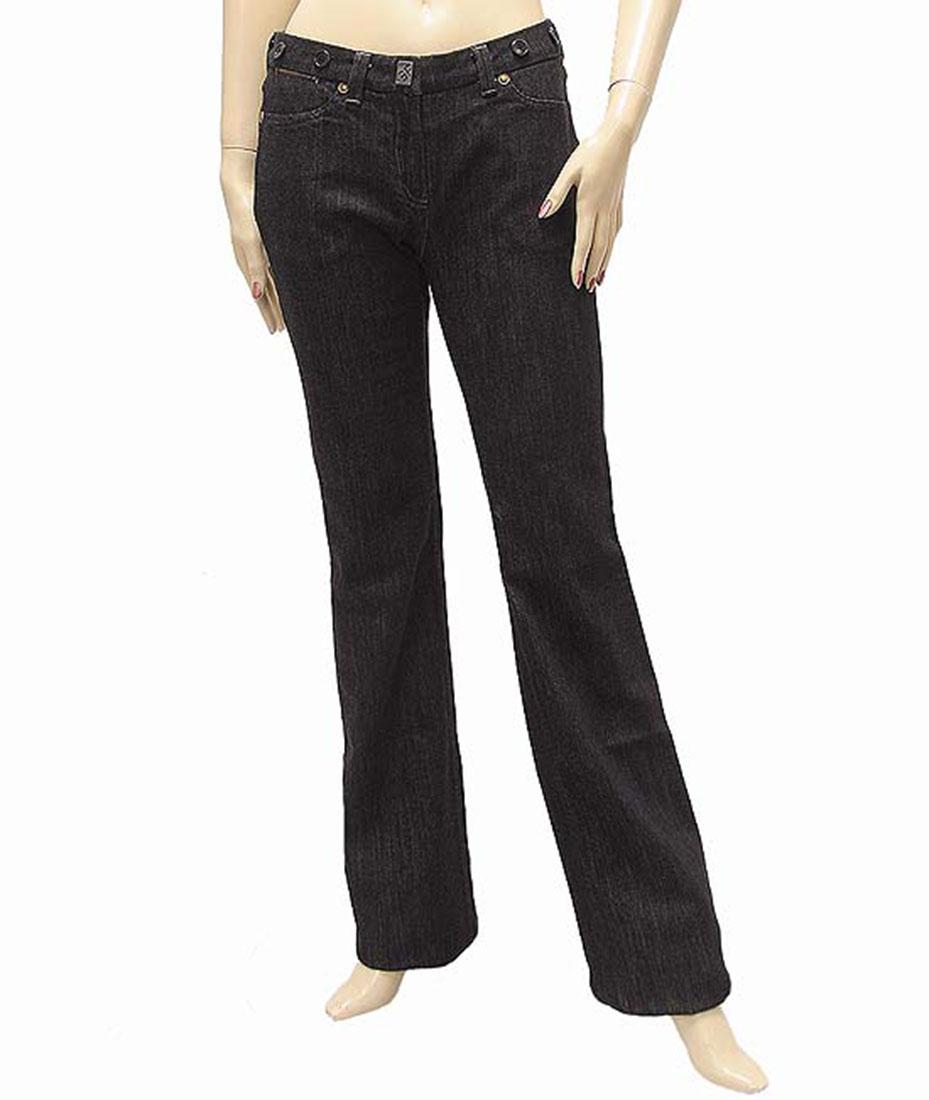 Ferre Womens Jeans Pants Black Cotton