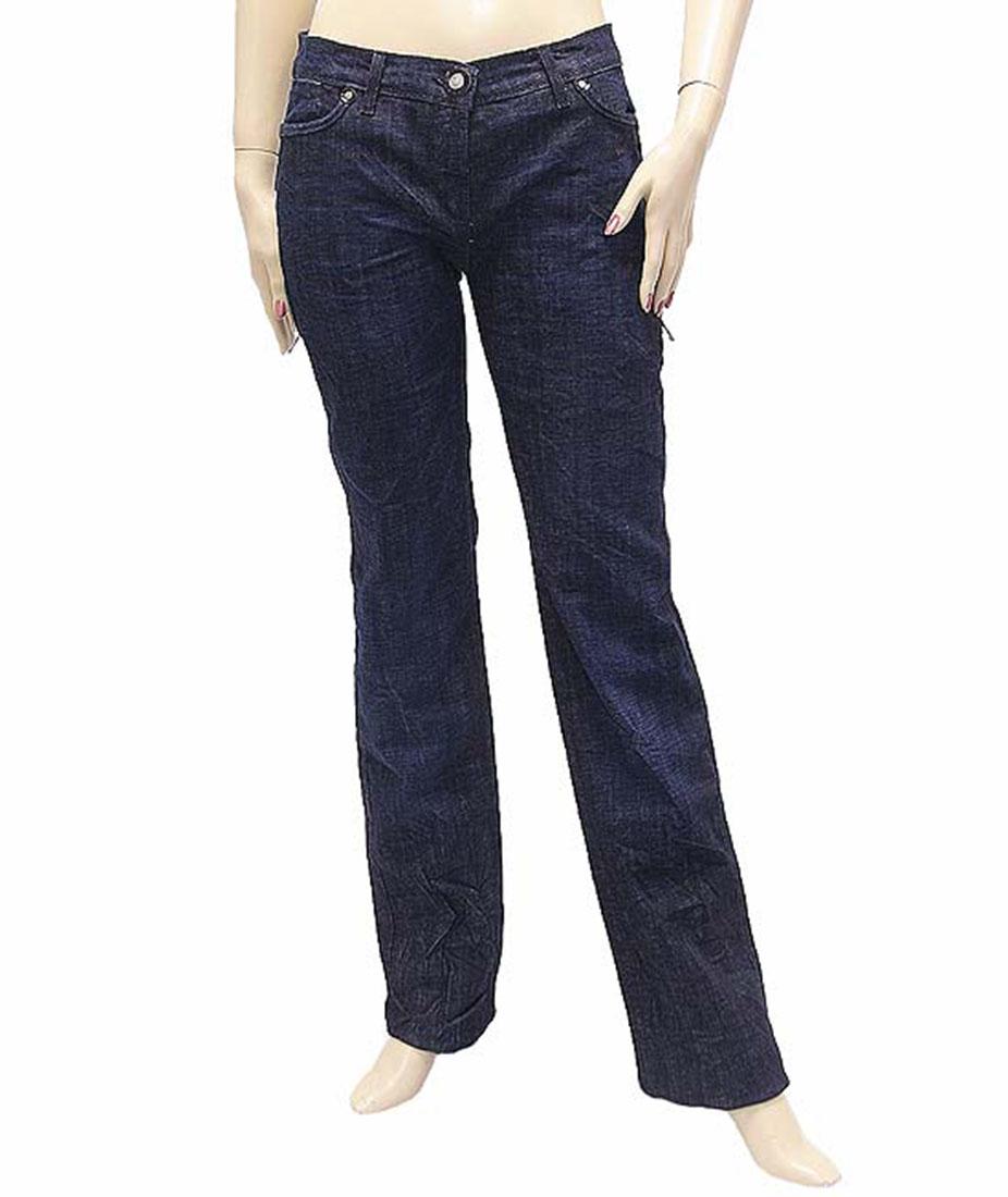 Ferre Womens Jeans Pants Blue Cotton