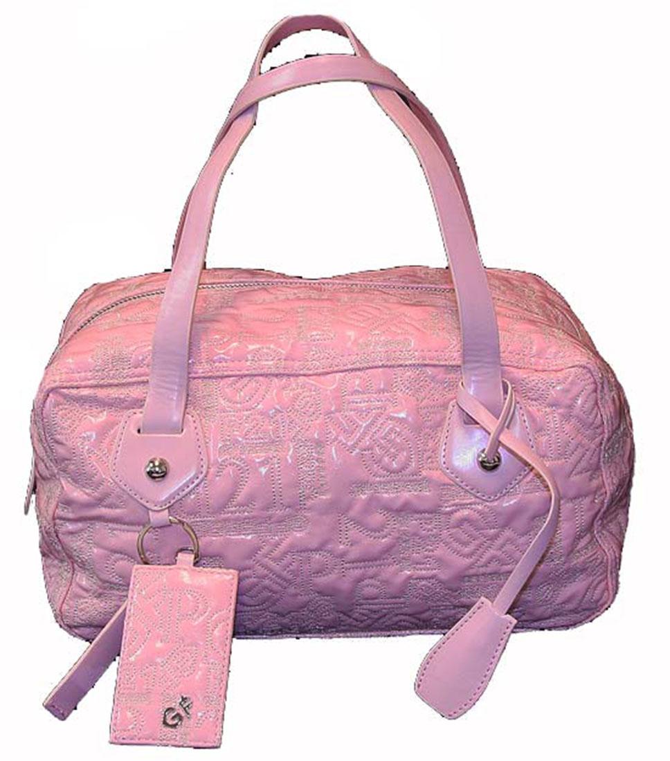 Ferre Womens Handbag Purse Bag Pink, One Size