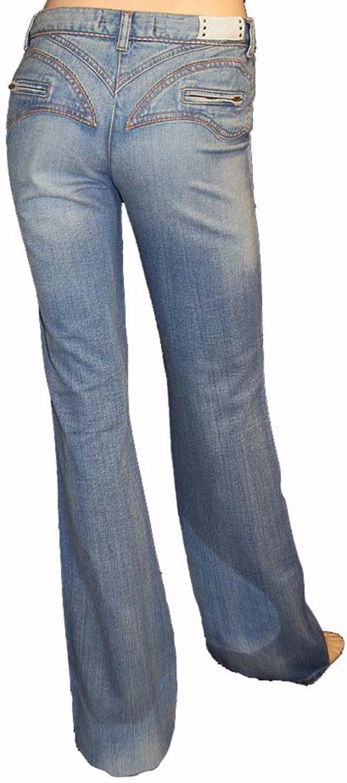 Just Cavalli Blue Cotton Jean
