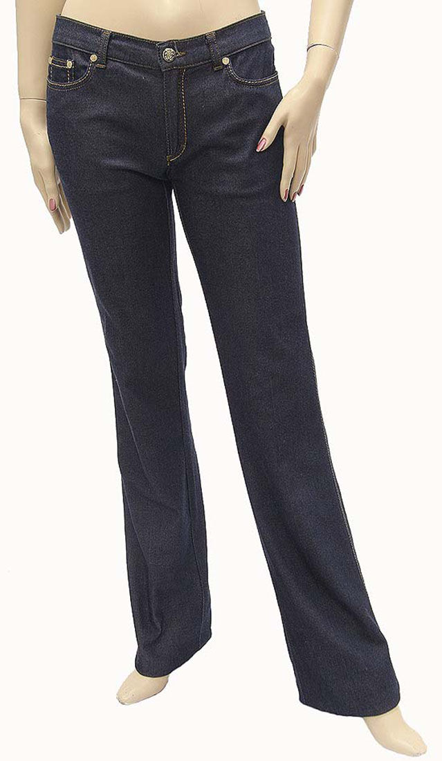 Roberto Cavalli Womens Jeans Pants Blue Cotton