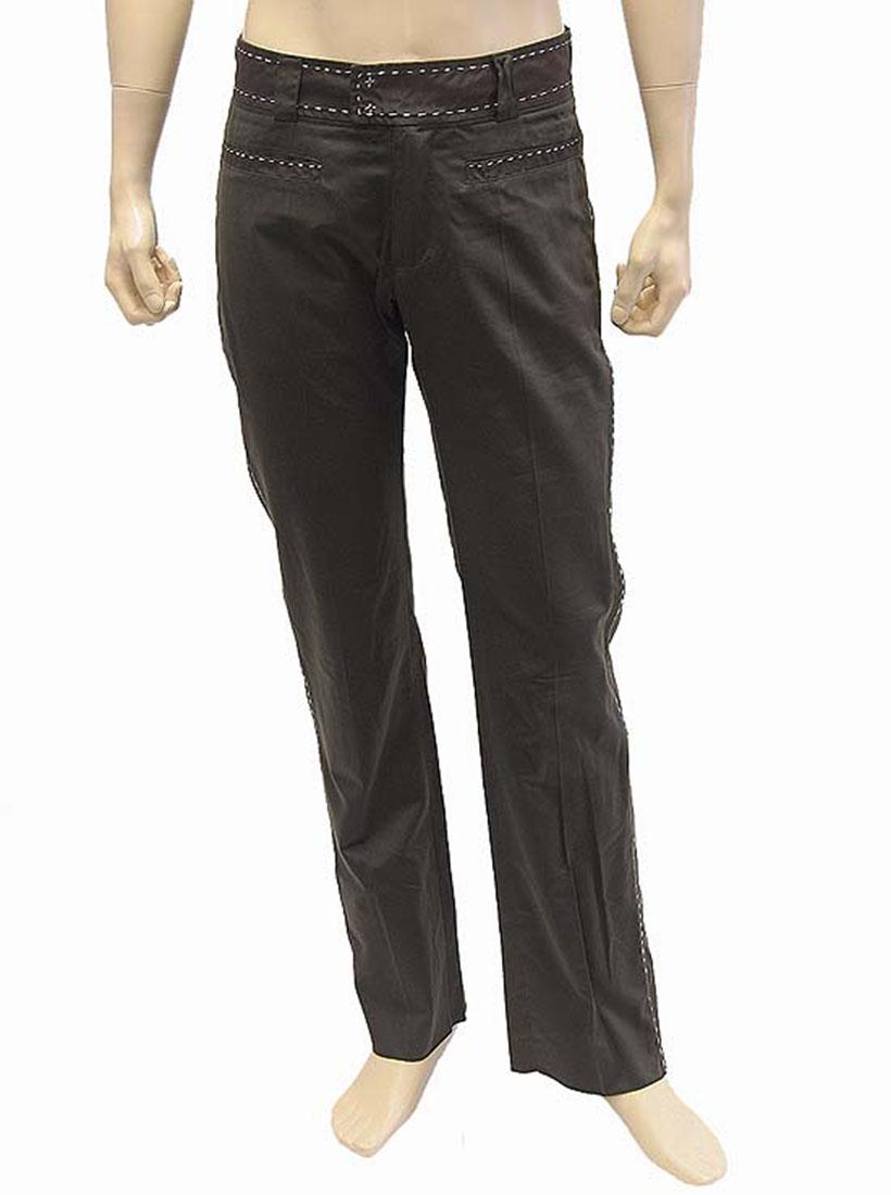 Roberto Cavalli Mens Pants Trousers Brown Cotton