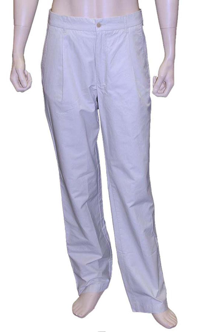 Valentino Mens Pants Trousers Beige Cotton